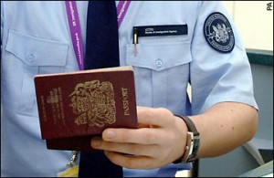 immigration check to enforce visa on arrival limitations